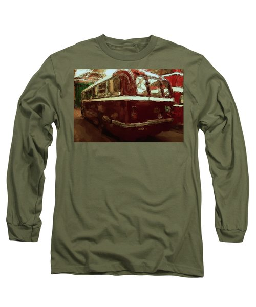Bus 101 Painting Long Sleeve T-Shirt