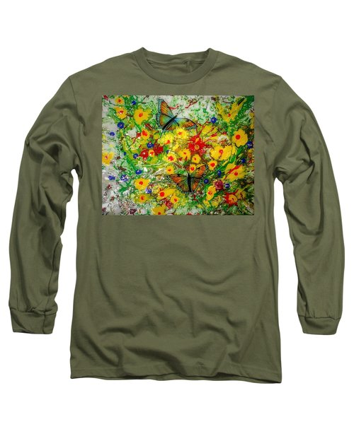 Butterfly Delight Long Sleeve T-Shirt