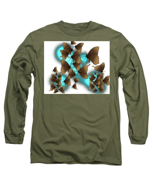 Butterfly Patterns 9 Long Sleeve T-Shirt