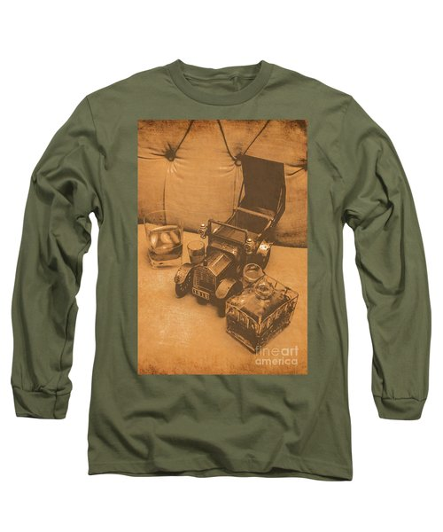 Bygone Bourbon Long Sleeve T-Shirt