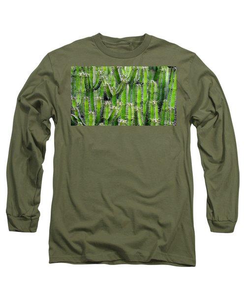 Cacti Wall Long Sleeve T-Shirt