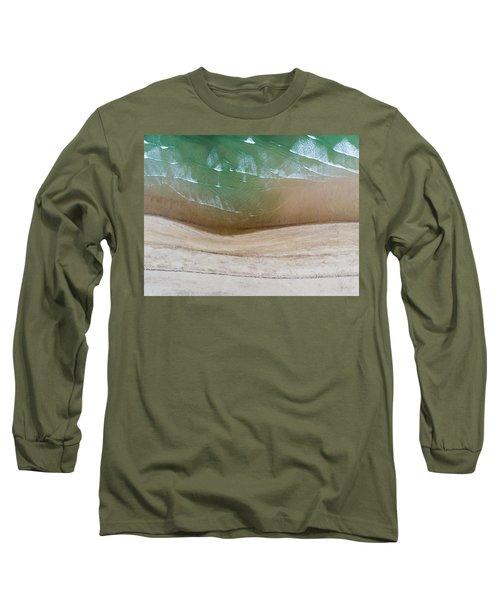 Cape Cod Beach Abstract Long Sleeve T-Shirt