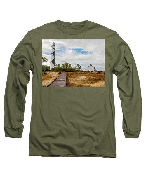 Cape Lookout Lighthouse No. 2 Long Sleeve T-Shirt