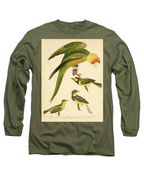 Carolina Parrot Long Sleeve T-Shirt