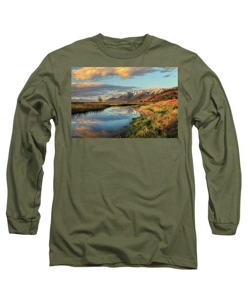 Carson Valley Sunrise Long Sleeve T-Shirt