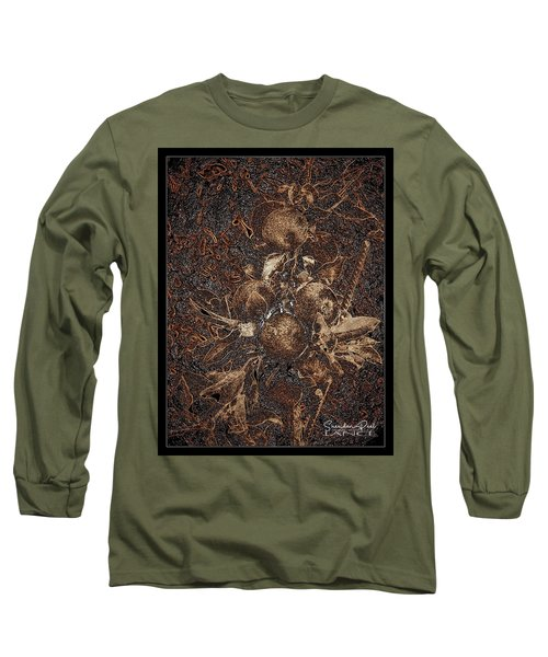 Carved Apples Long Sleeve T-Shirt