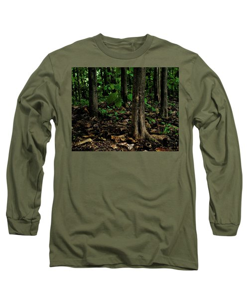 Cedar Trees Long Sleeve T-Shirt