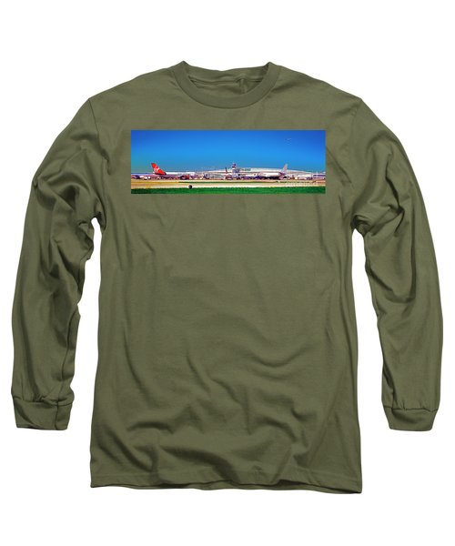 Chicago, International, Terminal Long Sleeve T-Shirt
