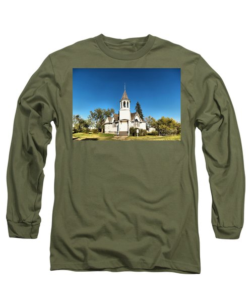 Church In Saskatchewan  Long Sleeve T-Shirt