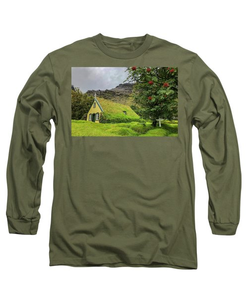 Church Of The Holy Moss Long Sleeve T-Shirt