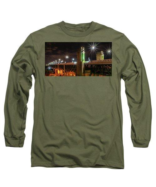 Cleveland Lights  Long Sleeve T-Shirt