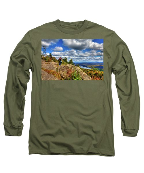 Long Sleeve T-Shirt featuring the photograph Close To Heaven On Earth by David Patterson