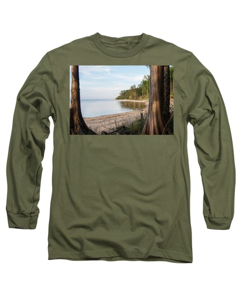 Coastal River Scene Long Sleeve T-Shirt