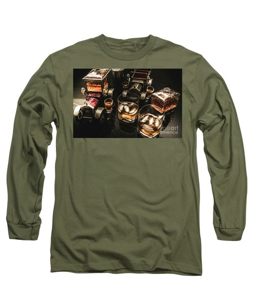 Cognac Cars Long Sleeve T-Shirt
