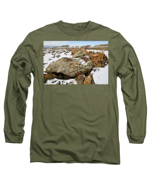 Color In The Book Cliff Desert Long Sleeve T-Shirt