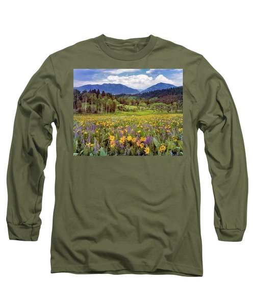 Color Of Spring Long Sleeve T-Shirt