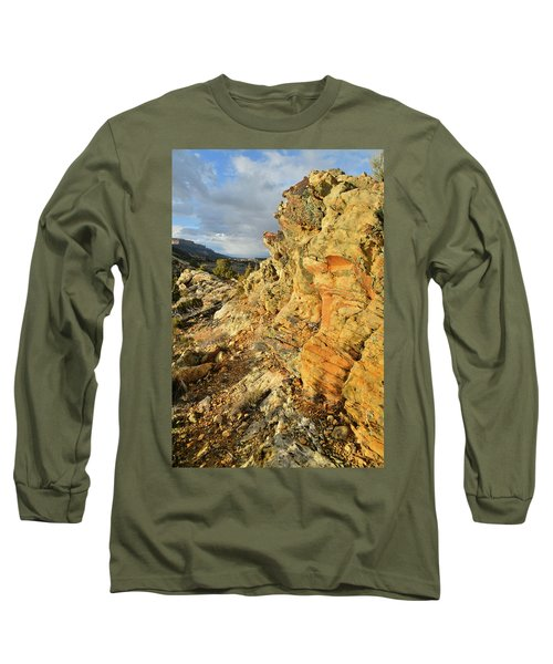 Colorful Entrance To Colorado National Monument Long Sleeve T-Shirt