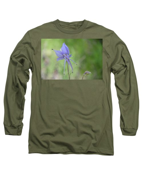 Columbine Details Long Sleeve T-Shirt
