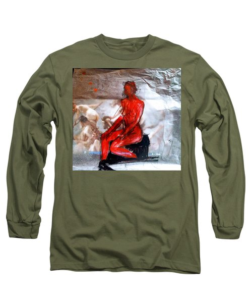 Coming From The Treaure  Long Sleeve T-Shirt