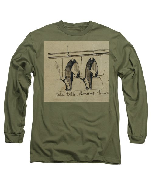 Corbel Table - Benieves, France Long Sleeve T-Shirt