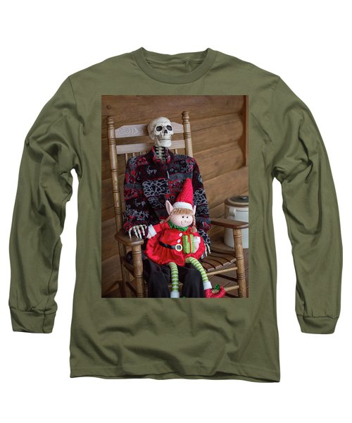 Country Christmas Greeters Long Sleeve T-Shirt