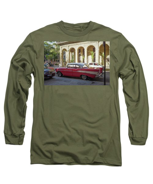 Cuban Chevy Bel Air Long Sleeve T-Shirt