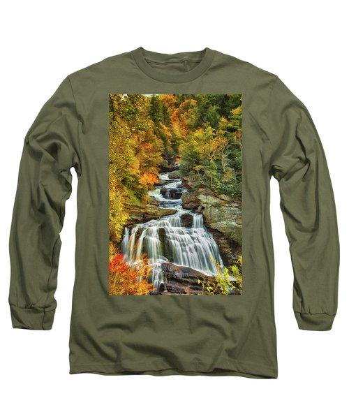 Cullasaja Falls Long Sleeve T-Shirt