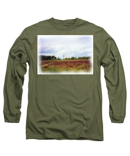 Culloden Battlefield Painting Long Sleeve T-Shirt
