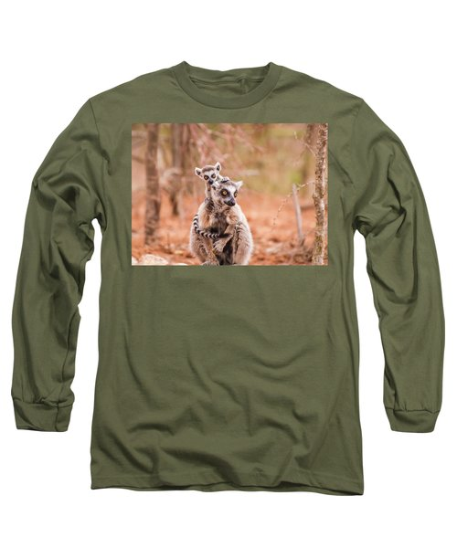 Long Sleeve T-Shirt featuring the photograph Curiosity by Alex Lapidus