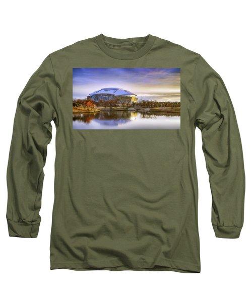 Dallas Cowboys Stadium Arlington Texas Long Sleeve T-Shirt