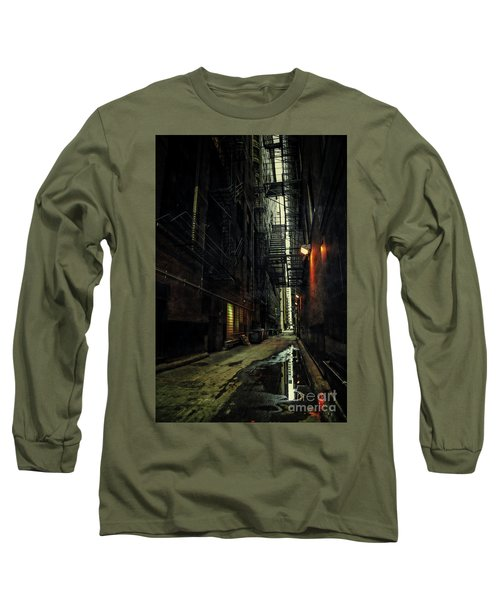 Dark Chicago Alley Long Sleeve T-Shirt