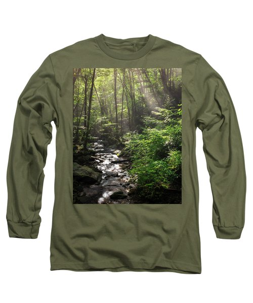 Deep In The Forrest - Sun Rays Long Sleeve T-Shirt