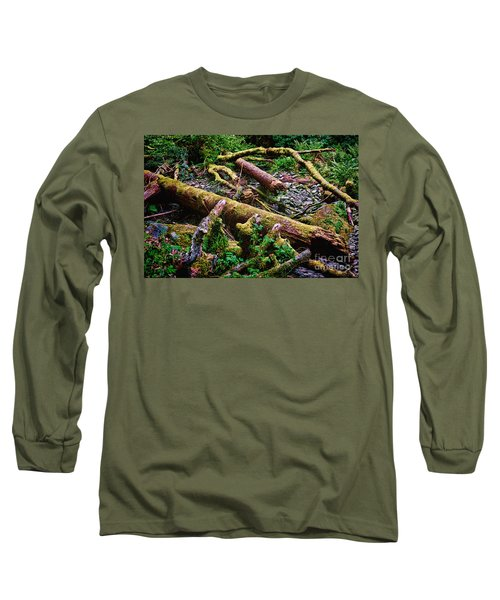 Deep In The Woods Long Sleeve T-Shirt