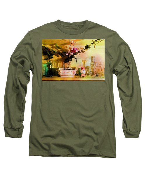 Delicate Flowers Long Sleeve T-Shirt