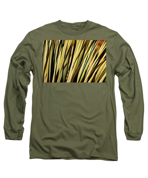 Long Sleeve T-Shirt featuring the photograph Desert Grasses II by Leda Robertson
