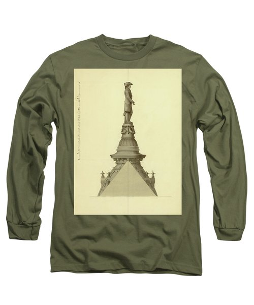 Design For City Hall Tower Long Sleeve T-Shirt