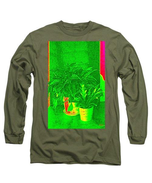 Desktop Garden   Long Sleeve T-Shirt