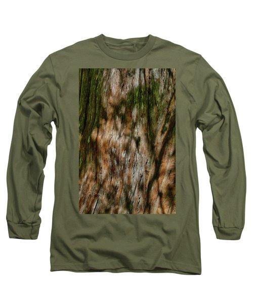 Detail Of Bark On Huge  Tree Long Sleeve T-Shirt
