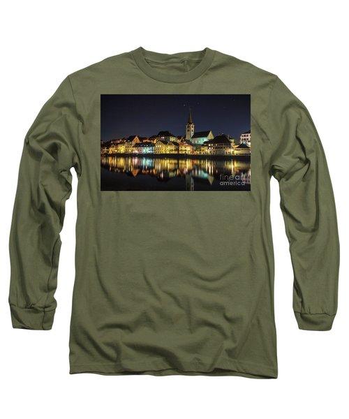 Dissenhofen On The Rhine River Long Sleeve T-Shirt