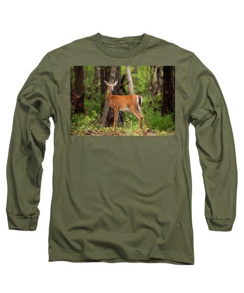 Doe, A Deer, A Female Deer Long Sleeve T-Shirt