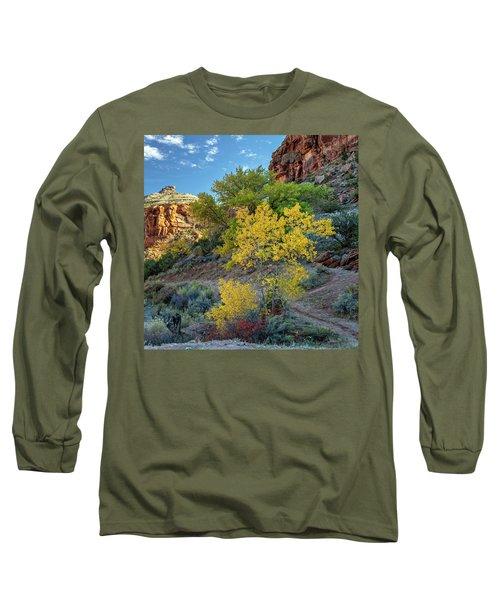 Dominguez Gold Long Sleeve T-Shirt