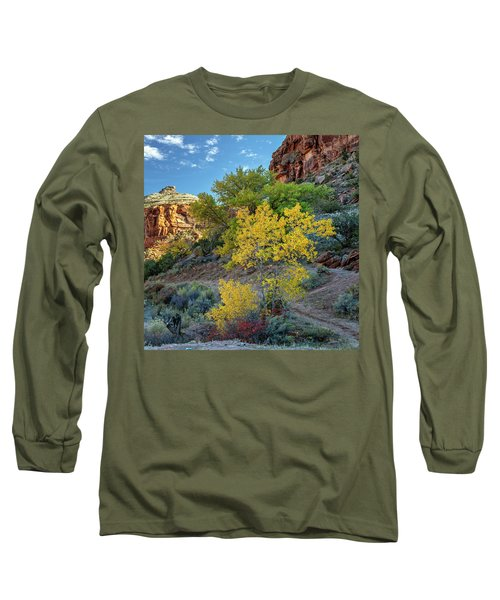 Dominguez Gold Long Sleeve T-Shirt