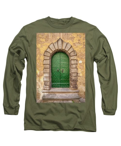 Door Six Of Cortona Long Sleeve T-Shirt