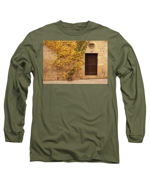 Doorway, Sarlat, France Long Sleeve T-Shirt