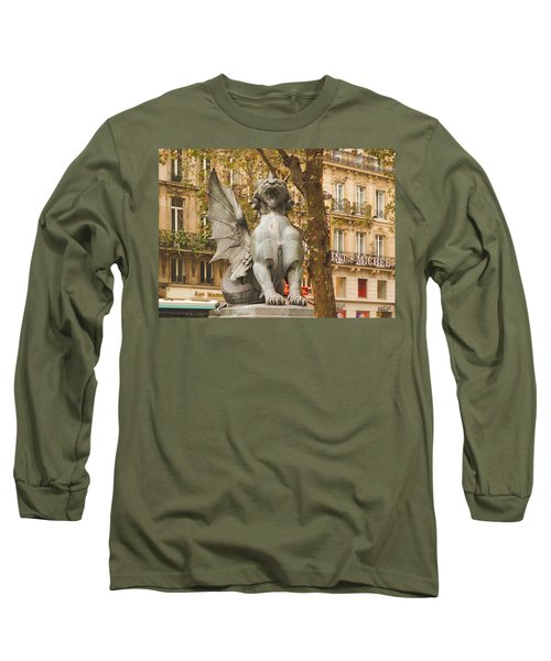 Dragon On The Boulevard  Long Sleeve T-Shirt