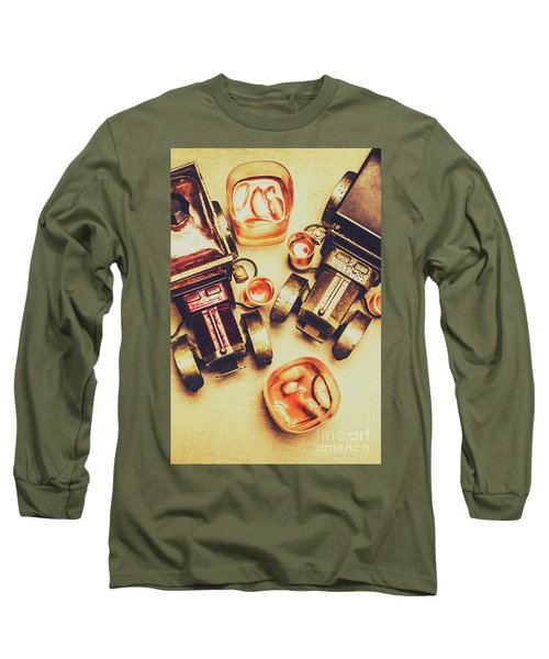 Drinks Delivery Long Sleeve T-Shirt