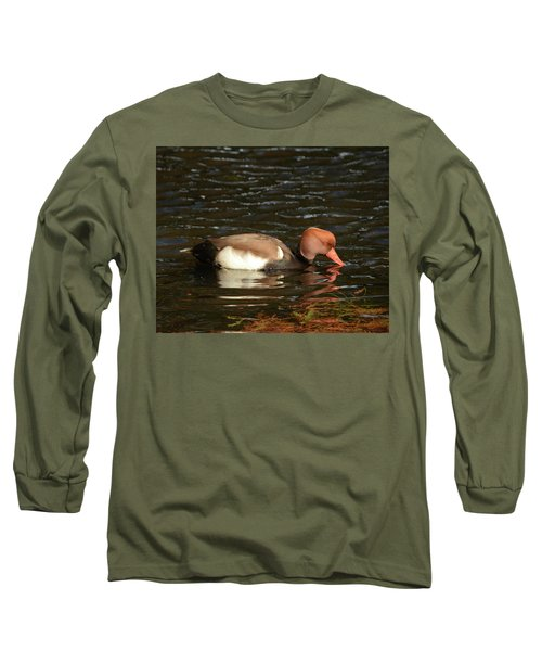 Duck On Water Long Sleeve T-Shirt