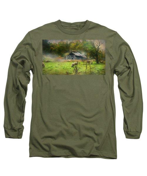 Early Morning Grazing Long Sleeve T-Shirt