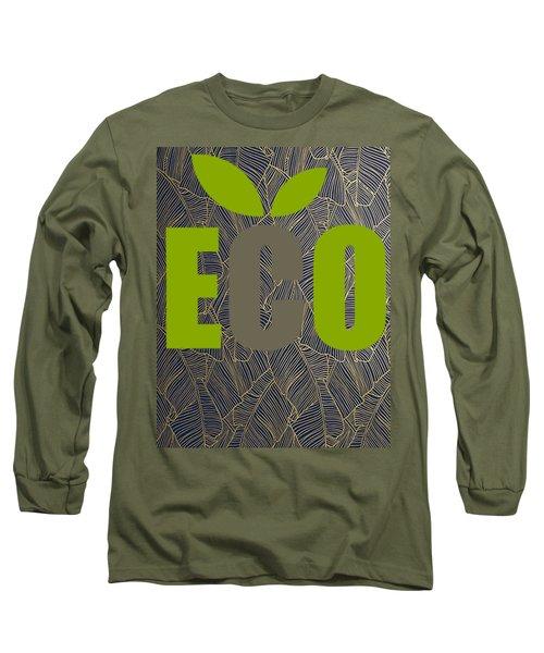 Eco Green Long Sleeve T-Shirt