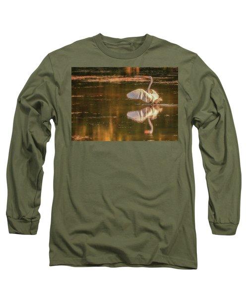 Egret Reflections 2 Long Sleeve T-Shirt